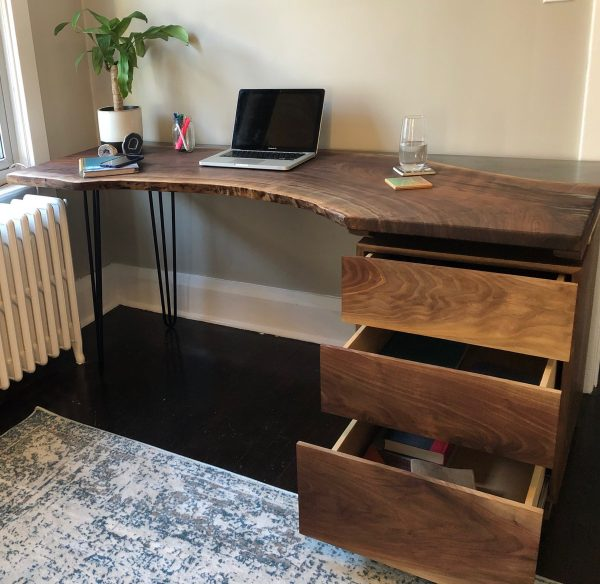 KWIT live edge desk
