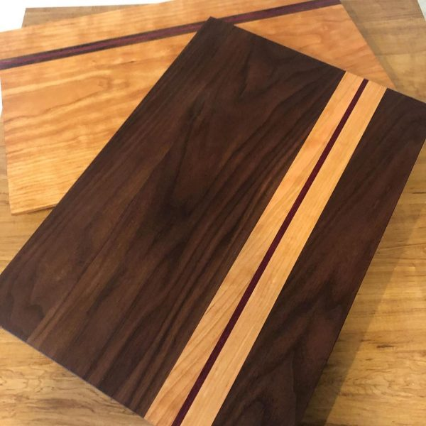 HUD-ON Cherry Walnut Charcuterie Board